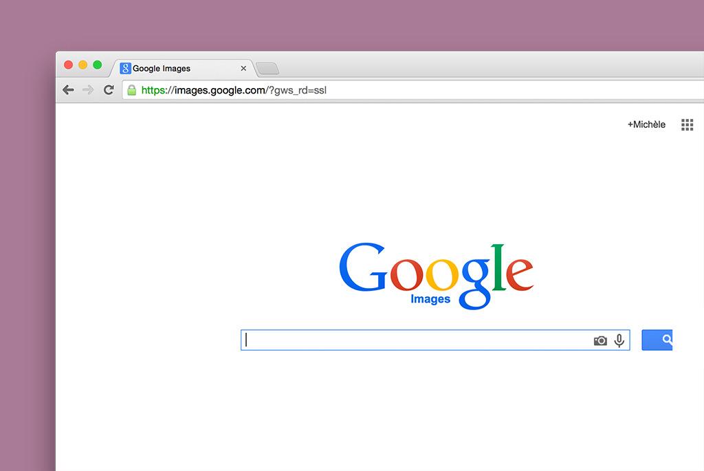 1. Go to images.google.com