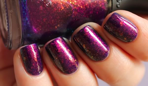 Swatch of nails with NFU OH 51