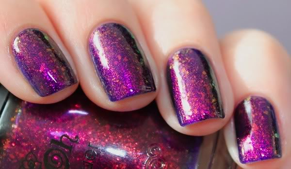 Another swatch of nails with NFU OH 51