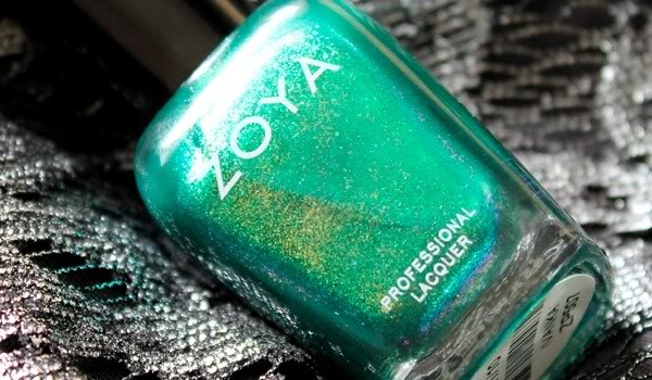 A bottle of the nail polish Zoya Ivanka